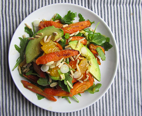 love salads with warm components who says everything in a salad has ...